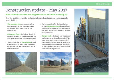 Construction Update May 2017