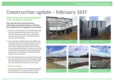 Construction Update February 2017